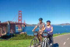 São Francisco: passeio exclusivo de bicicleta, cerveja e barco