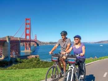 San Francisco: Exklusive Fahrrad-, Bier- und Bootstour