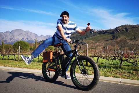 Franshhoek: E-Bike Winery Tour