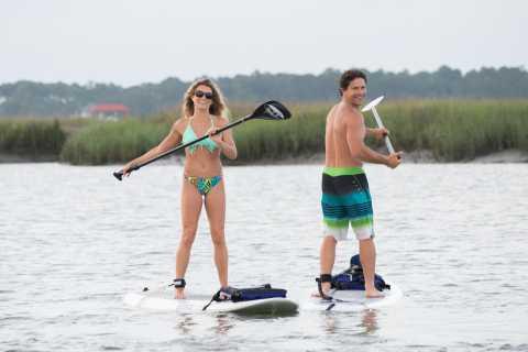 Charleston: Folly Beach Stand Up Paddleboard Dolphin Safari