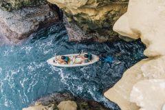 La Jolla: Excursão de caiaque pela caverna do mar de 90 minutos com guia