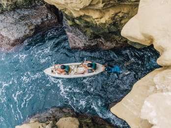 La Jolla: Meereshöhlen Kajaktour mit Guide