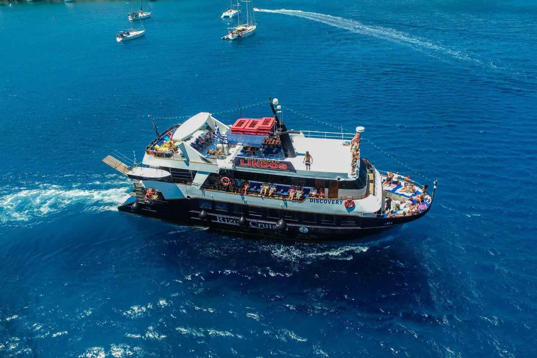 Ab Rhodos-Stadt: Ganztägige Bootstour nach Lindos