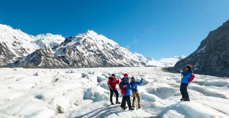 Mount Cook: 3-Hour Tasman Glacier Helicopter Ride and Hike