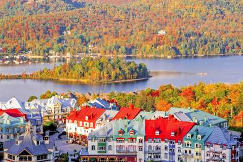Montreal: Laurentian Mountains Day Trip with Cruise