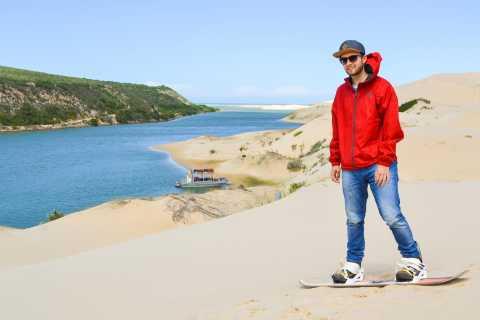 Port Elizabeth: Sandboarden met korte boottocht