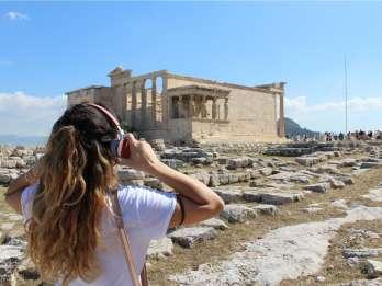 Akropolis: Ticket ohne Anstehen & Smartphone-Audiotour