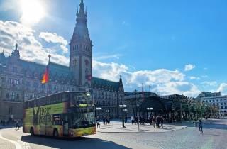 Hamburg: Hop-On/Hop-Off-Bustour und Hafenrundfahrt per Boot