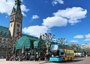 Amburgo: biglietto per il bus hop-on hop-off