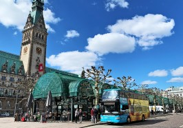 What to do in Hamburg - City Tour of Hamburg with Hop-On, Hop-Off Ticket