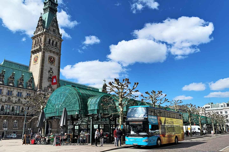 Hamburg: Stadtrundfahrt mit Hop-On-/Hop-Off-Ticket