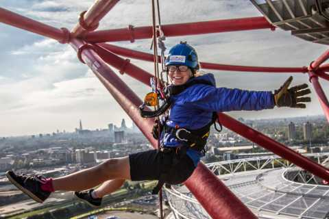 London: ArcelorMittal Orbit Abseil