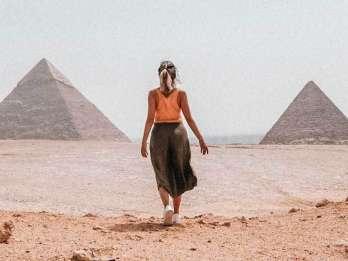 Ab Hurghada: Tagestour nach Kairo mit dem Flugzeug