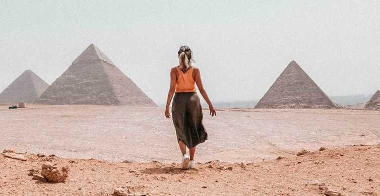 Desde Hurgada: viaje de un día a El Cairo en avión