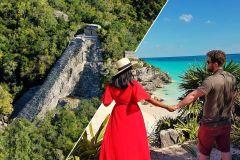 De Cancún e Riviera Maya: Excursão Tulum, Coba e Cenote