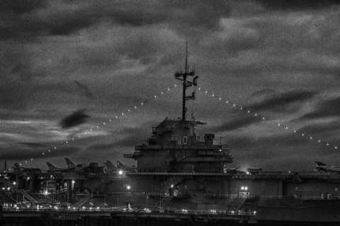 Charleston: Patriot's Point Haunted USS Yorktown Tour