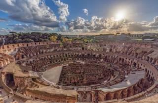 Rom: römische Piazzen, das Kolosseum und Forum Romanum