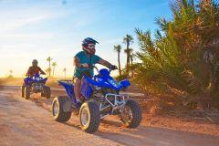 Excursão de Quadriciclo no Deserto de Marrakech e Palmeiral