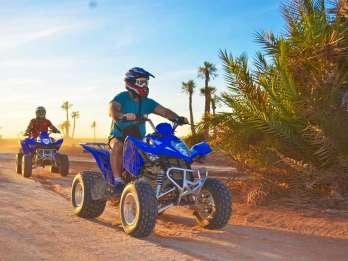 Marrakesch: Quadtour durch Wüste und Palmenhain
