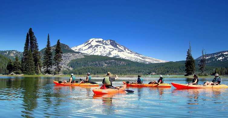 Bend: Half-Day Cascade Lakes Kayak Tour