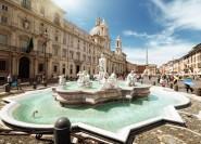 Rom: Plätze und Brunnen Privater Rundgang durch die römische Kunst
