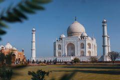 De Delhi: Excursão privada de 2 dias ao nascer do sol e ao pôr do sol no Taj Mahal