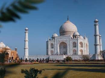 Ab Delhi: 2-tägige Sonnenauf- und -untergangs-Tour Taj Mahal