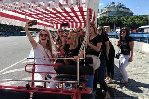 Mardid: 45-Minute Sangria Bike Tour with Unlimited Sangria