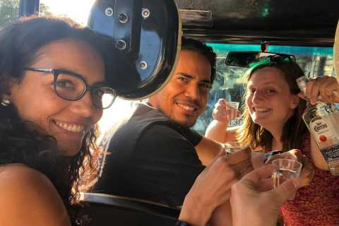 Madrid: 1-Hour Buggy Tour with Shots