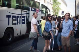 Rom: Ciampino Flughafen - Rom Termini Direkter Bustransfer