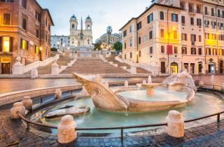 Rom: Private Nachttour mit dem Auto