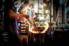 Yangon: Excursão gastronômica guiada de 4 horas