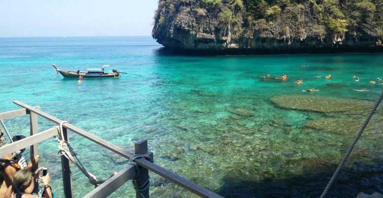 From Phi Phi: Full-Day Sunset Long Tail Boat Tour
