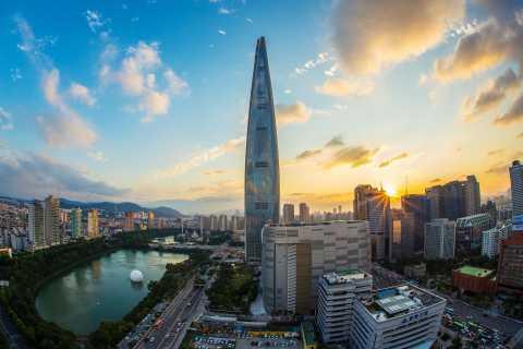 Seoul: Lotte Tower Seoul Sky Observatory E-Ticket
