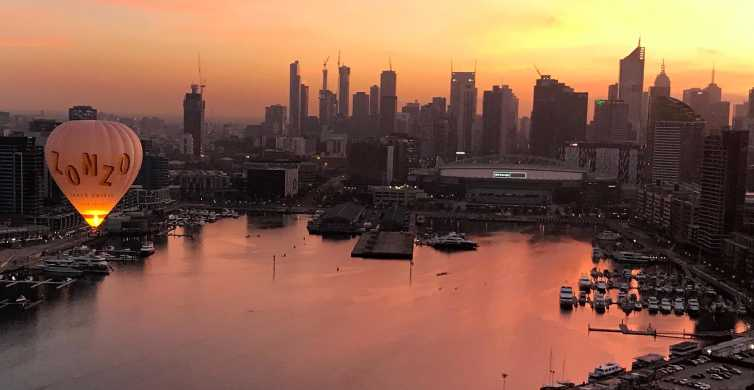 Melbourne: Balloon Flight at Sunrise