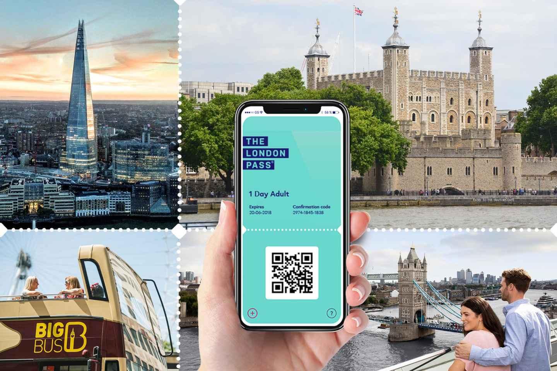 London Pass mit über 80 Attraktionen