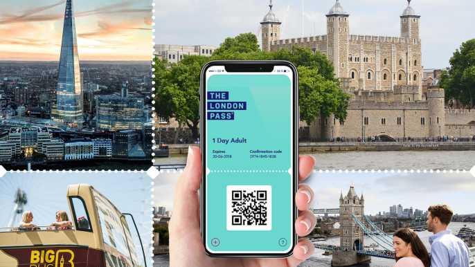 London Pass: acceso a más de 80 atracciones