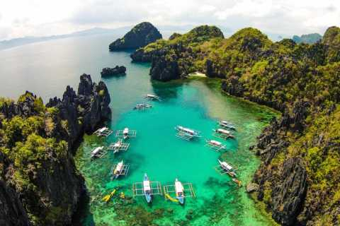 From Puerto Princesa: Day Trip to El Nido and Island Hopping