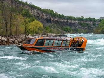 Niagara USA: Jet-Abenteuer Wildwasser-Stromschnellen-Bootstour