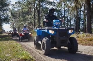 Clermont: ATV Quad-Bike-Abenteuer mit einem Sitz