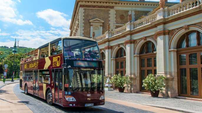 Budapest: tour de 24, 48 y 72 horas en autobús turístico