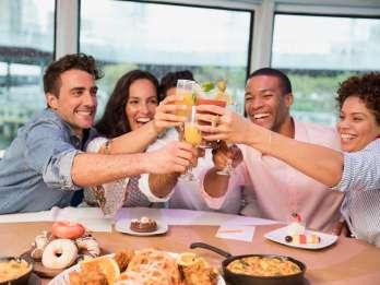 Brunch mit Champagner in San Diego