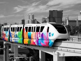 Fahrkarten für die Las Vegas Monorail