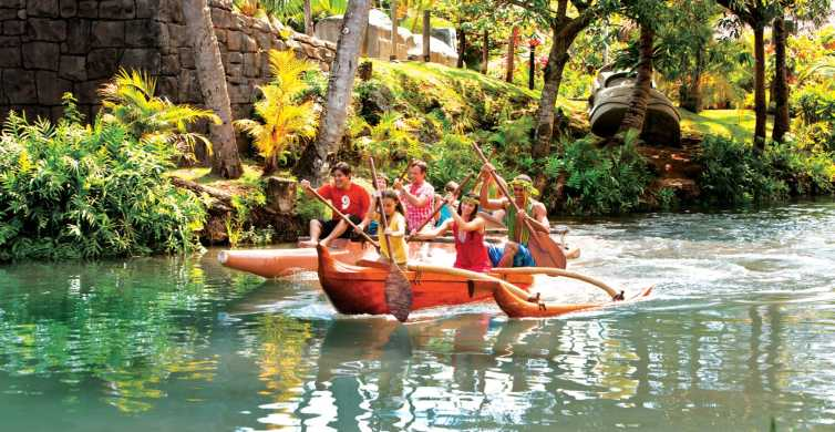 Oahu: Polynesian Cultural Center w/ Guide, Dinner, and Show