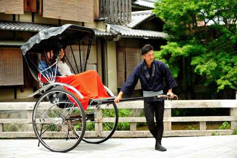 Kyoto: Private Rickshaw Tour of Gion and Higashiyama Area