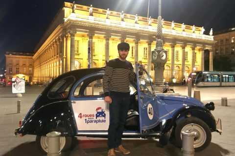 Bordeaux by Night: Private Tour in a Citroën 2CV