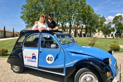 Bordeaux: Citroën 2CV Private Half-Day Wine Tour
