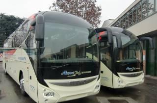 Bustransfer zwischen Flughafen Malpensa und Milano Centrale