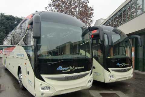 Bustransfer vliegveld Malpensa en Centraal Station Milaan