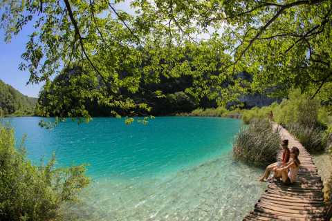 From Rijeka: Guided Tour to Plitvice Lakes National Park